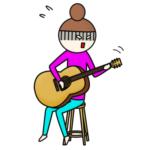 ギターが弾けない人の画像
