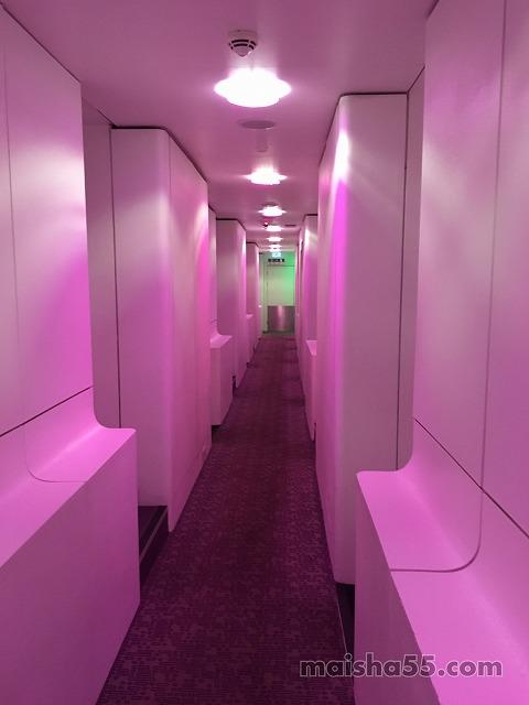 YOTELの廊下